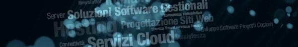 Soluzioni Software Gestionali, Consulenza Sistemistica, Progettazione Siti Web, Servizi Cloud